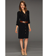 MICHAEL Michael Kors - MJ Chain-Link Shirtdress