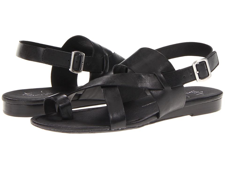Franco Sarto Gia by SARTO (Black Leather) Sandals