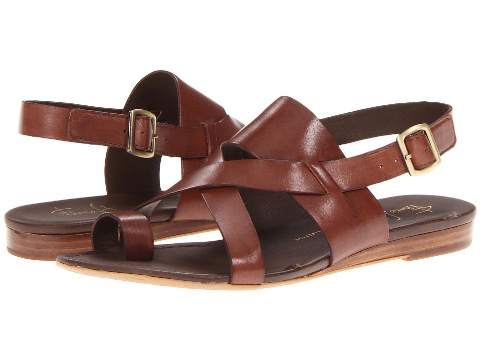 Franco Sarto Gia by SARTO (Chocolate Leather) Sandals