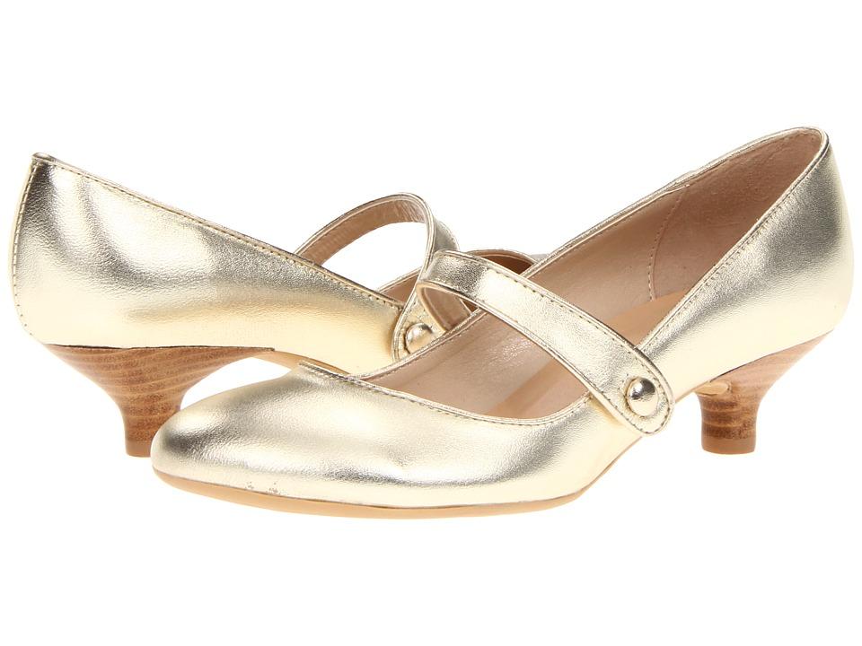Gabriella Rocha Ginger (Gold) Women's Maryjane Shoes