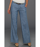 MICHAEL Michael Kors - Chambray Rope Wide Leg Pant