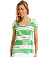 MICHAEL Michael Kors - Shibori Stripe Sleeveless Box Top