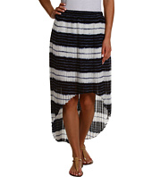 MICHAEL Michael Kors - Shibori Stripe Hi-Low Skirt