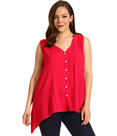 Karen Kane Plus - Plus Size S/L Pocket Top