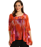 Karen Kane Plus - Plus Size Side Shirred Top