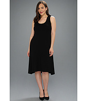 Karen Kane Plus - Plus Size Extended Back Hem Dress