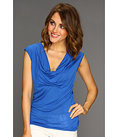 MICHAEL Michael Kors Petite - Petite Sleeveless Drape Neck Top