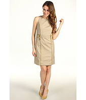 MICHAEL Michael Kors Petite - Petite Sheath Double Zip Dress
