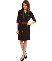 MICHAEL Michael Kors Petite - Petite MJ Chain-Link Shirtdress