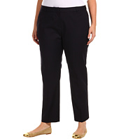 MICHAEL Michael Kors Plus - Plus Size Stretch Cotton Welles Ankle Pant