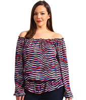 MICHAEL Michael Kors Plus - Plus Size Serengeti New Peasant Top