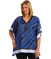 MICHAEL Michael Kors Plus - Plus Size Glam Rock Lace Up Poncho