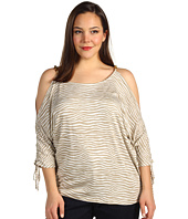 MICHAEL Michael Kors Plus - Plus Size Serengeti Cold Shoulder Top