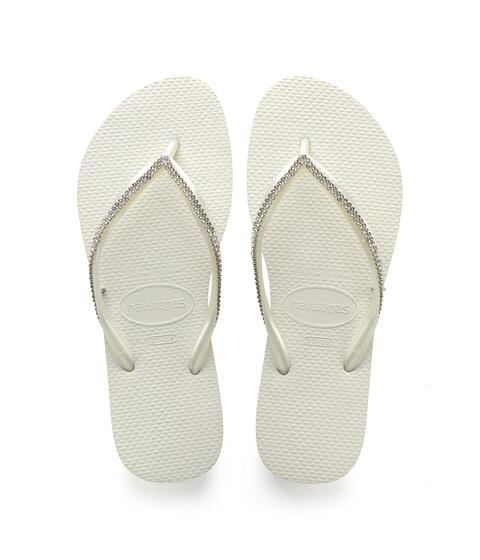 Havaianas Slim Crystal Mesh II Flip Flops