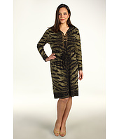 MICHAEL Michael Kors Plus - Plus Size Tiger Lace Up Border Dress