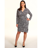 MICHAEL Michael Kors Plus - Plus Size Mini Roxy L/S Wrap Dress