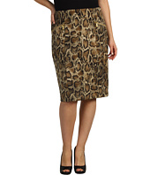 MICHAEL Michael Kors Plus - Plus Size Mamba Snake Pencil Skirt