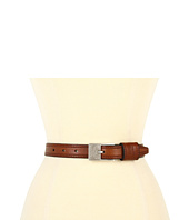 LAUREN Ralph Lauren - Embossed Leather Belt w/ Equestrian Tooled Buckle