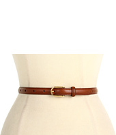 LAUREN Ralph Lauren - Vachetta Belt w/ sculpted Buckle