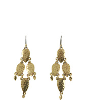 Lucky Brand - Paisley Hammered Chandelier Earrings