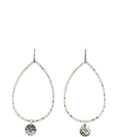 Lucky Brand - Paisley Hammered Hoops with Discs