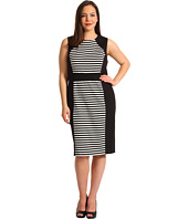 Calvin Klein - Plus Size Striped Dress