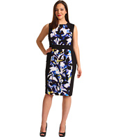 Calvin Klein - Plus Size Mixed Print Dress