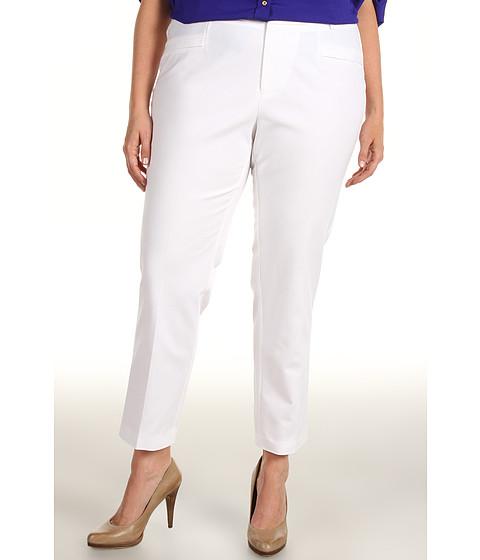 Calvin Klein - Plus Size Slim Pant (Soft White) - Apparel