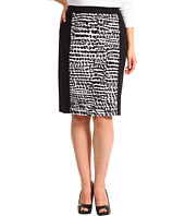 Calvin Klein - Plus Size Mixed Print Skirt