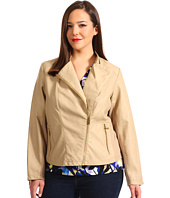 Calvin Klein - Plus Size Seamed Moto Jacket