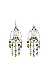Lucky Brand - Beachwood Canyon Green Oblong Earrings