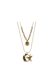 Lucky Brand - Blossom Hummingbird Double Necklace