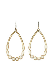 Lucky Brand - Rosebud Oblong Hoop Earrings