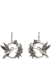 Lucky Brand - Rosebud Hummingbird Earrings