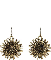 Lucky Brand - Rosebud Floral Drop Earrings