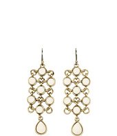 Lucky Brand - Rosebud Stone Chandelier Earrings