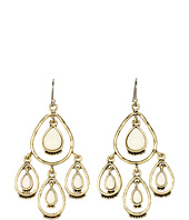 Lucky Brand - Rosebud Large Bone Chandelier Earrings