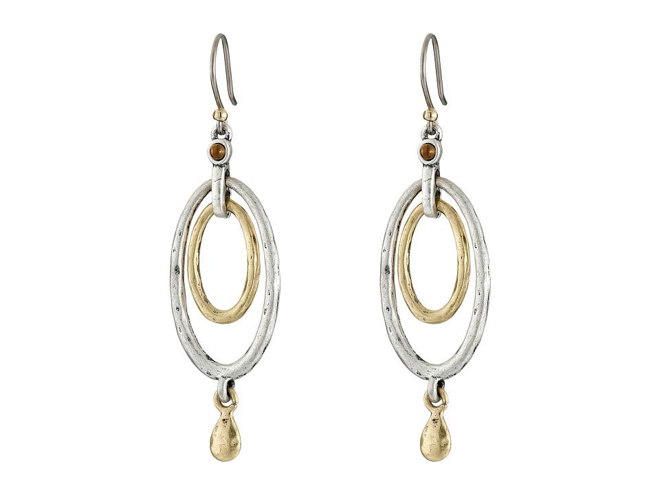 Lucky Brand - Mary Jane Oval Orbital Earrings