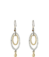 Lucky Brand - Mary Jane Oval Orbital Earrings
