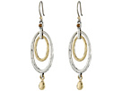 Lucky Brand Mary Jane Oval Orbital Earrings