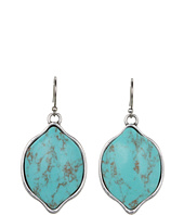 Lucky Brand - Mary Jane Large Turquoise Stone Earrings