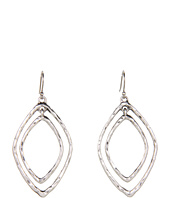 Lucky Brand - Mary Jane Double Oblong Hoop Earrings