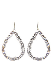 Lucky Brand - Mary Jane Fern Oblong Earrings