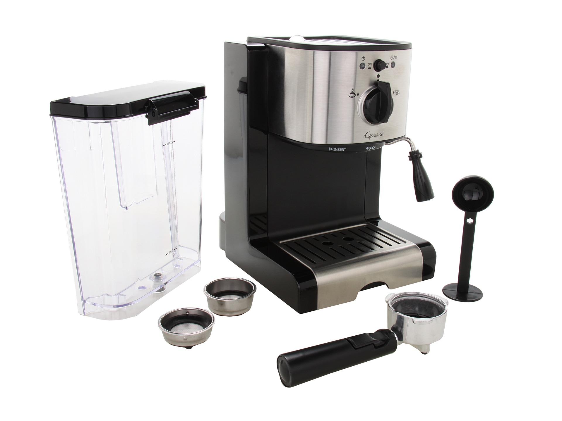 capresso ec100 espresso cappuccino machine