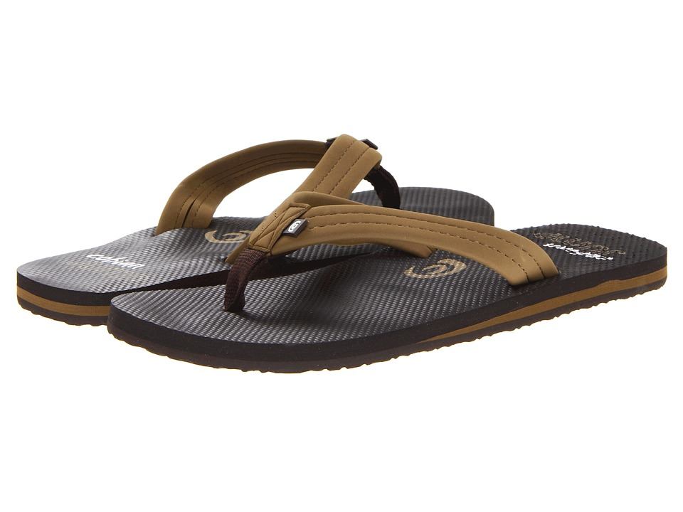 Cobian Aqua Jump Brown Mens Sandals