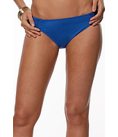 LAUREN Ralph Lauren - Mesh Solid Shirred Tab Hipster Bottom