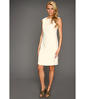 Ellen Tracy - Cap Sleeve Dress with Stitching