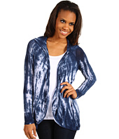 Miraclebody Jeans - Hoodie Cardi Twin Set w/ Body-Shaping Inner Shell