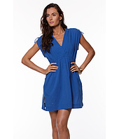 LAUREN Ralph Lauren - Crushed Cotton Cover-Up Farrah Dress