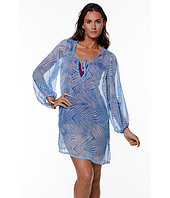 LAUREN Ralph Lauren - Herringbone Cover-Up Blouson Tunic
